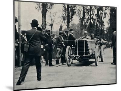 'Jarrott arrives at Bordeaux in the Race of Death', 1937-Unknown-Mounted Photographic Print