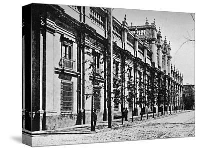 'The Government Palace, Santiago', 1911-Unknown-Stretched Canvas Print