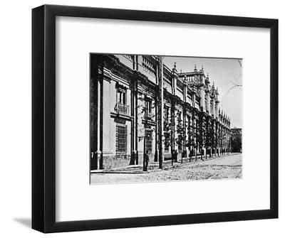 'The Government Palace, Santiago', 1911-Unknown-Framed Photographic Print