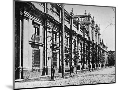 'The Government Palace, Santiago', 1911-Unknown-Mounted Photographic Print
