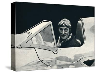 ''Sir Malcolm Campbell at the wheel of Bluebird', 1937-Unknown-Stretched Canvas Print