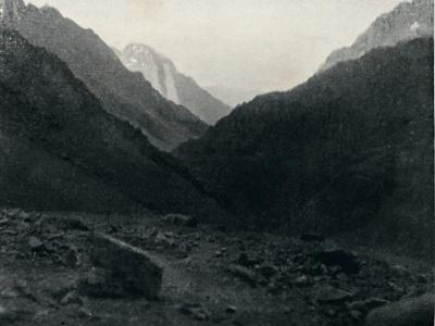 'Last View of Chile', 1911-Unknown-Framed Photographic Print