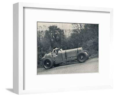 'Raymond Mays (E.R.A.) breaking the record, 1935; the Shelsey Walsh Hill Climb', 1937-Unknown-Framed Photographic Print