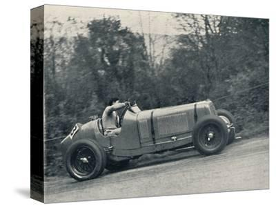 'Raymond Mays (E.R.A.) breaking the record, 1935; the Shelsey Walsh Hill Climb', 1937-Unknown-Stretched Canvas Print