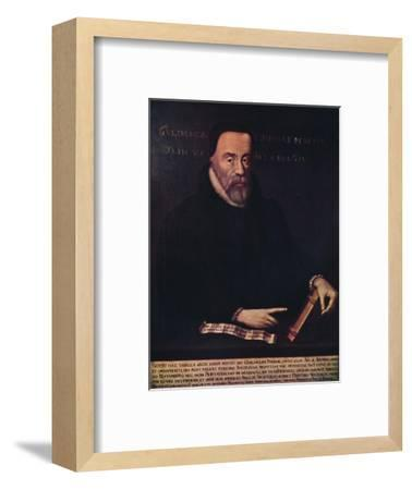 'William Tyndale 1492-1536', c16th century, (1947)-Unknown-Framed Giclee Print