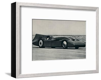 '276 miles an hour on the sands at Daytona', 1937-Unknown-Framed Photographic Print