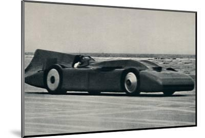 '276 miles an hour on the sands at Daytona', 1937-Unknown-Mounted Photographic Print