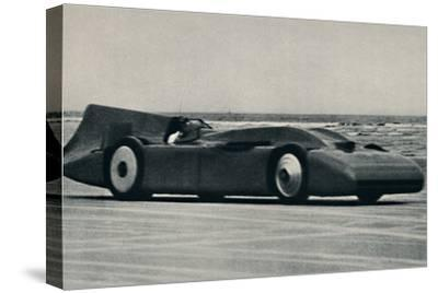 '276 miles an hour on the sands at Daytona', 1937-Unknown-Stretched Canvas Print