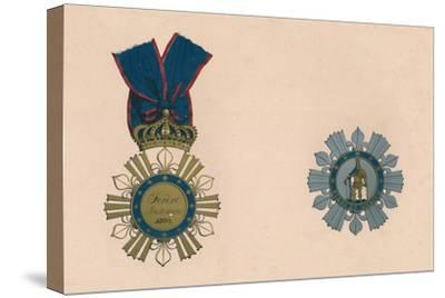 'The Order of St. Ferdinand and of Merit', c19th century-Unknown-Stretched Canvas Print