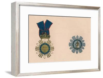 'The Order of St. Ferdinand and of Merit', c19th century-Unknown-Framed Giclee Print