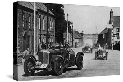 'Ards Tourist Trophy Race', 1937-Unknown-Stretched Canvas Print