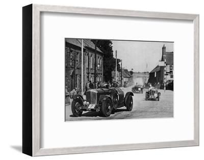 'Ards Tourist Trophy Race', 1937-Unknown-Framed Photographic Print