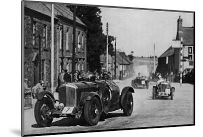 'Ards Tourist Trophy Race', 1937-Unknown-Mounted Photographic Print