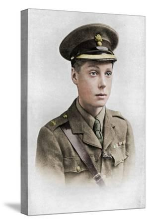 Edward, Prince of Wales, First World War, 1914-1918, (c1920)-Unknown-Stretched Canvas Print
