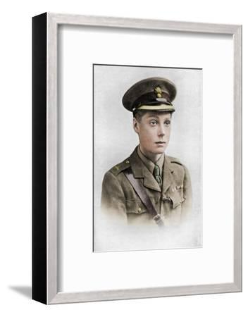 Edward, Prince of Wales, First World War, 1914-1918, (c1920)-Unknown-Framed Photographic Print