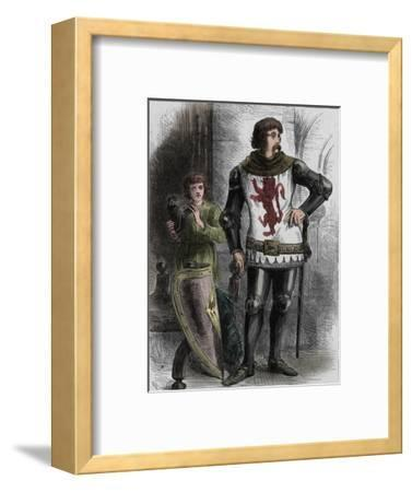 'William Wallace', c1270-1305, (c1880)-Unknown-Framed Giclee Print