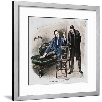 'A Very Seedy Hard Felt Hat', 1892-Sidney E Paget-Framed Giclee Print