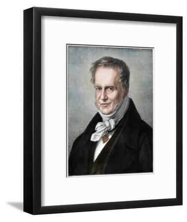 Alexander von Humboldt, Prussian naturalist and explorer, (1900)-Unknown-Framed Giclee Print