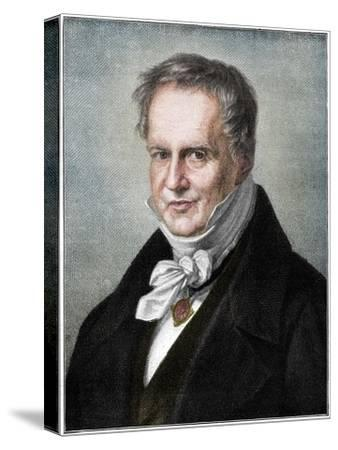 Alexander von Humboldt, Prussian naturalist and explorer, (1900)-Unknown-Stretched Canvas Print