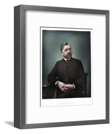 Gustave Eiffel, French engineer, 1880-Eugene Pirou-Framed Photographic Print