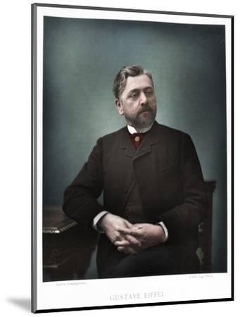 Gustave Eiffel, French engineer, 1880-Eugene Pirou-Mounted Photographic Print