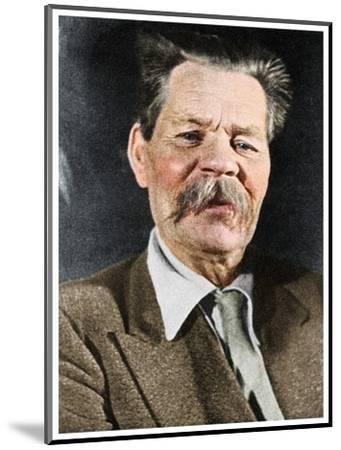 Maxim Gorky, Russian author, c1930 (1956)-Unknown-Mounted Photographic Print