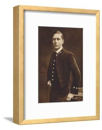 'Aged sixteen - Prince Albert, Naval cadet at Osborne', c1910, (1937)-Unknown-Framed Photographic Print
