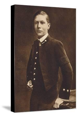 'Aged sixteen - Prince Albert, Naval cadet at Osborne', c1910, (1937)-Unknown-Stretched Canvas Print