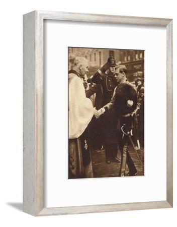 'Welsh Guards Come of Age', 1937-Unknown-Framed Photographic Print
