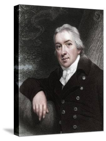 Edward Jenner, English physician, 1837-Unknown-Stretched Canvas Print