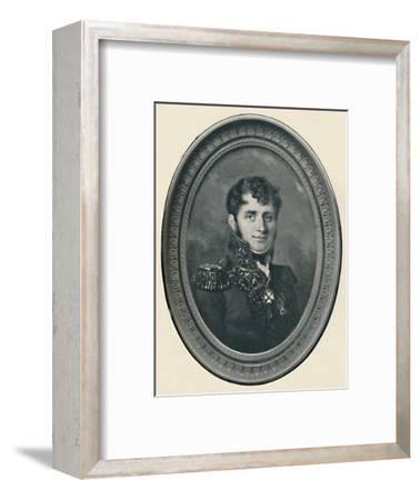 'Baron Henri Jomini', c1800, (1896)-Unknown-Framed Giclee Print