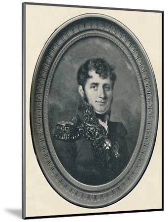 'Baron Henri Jomini', c1800, (1896)-Unknown-Mounted Giclee Print