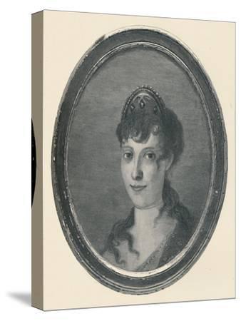'Laetitia Ramolino - Wife of Carlo Buonaparte; Mother of Napoleon Bonaparte', c1780, (1896)-Unknown-Stretched Canvas Print