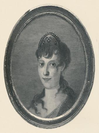 'Laetitia Ramolino - Wife of Carlo Buonaparte; Mother of Napoleon Bonaparte', c1780, (1896)-Unknown-Framed Giclee Print