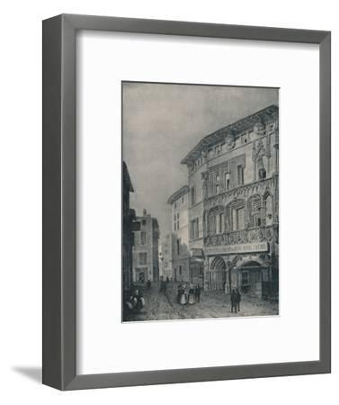 'The Lodging of Bonaparte at Valence', 1896-Unknown-Framed Giclee Print