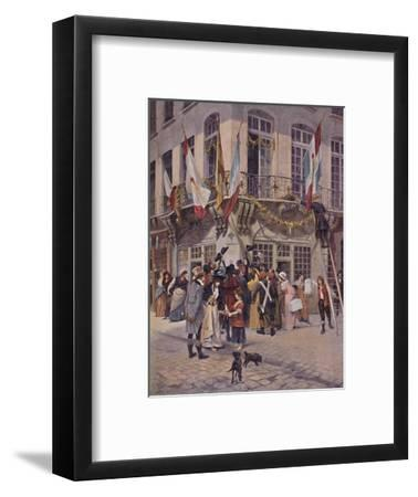 'Bulletin of Victory from the Armies of Italy, 1797', (1896)-Unknown-Framed Giclee Print