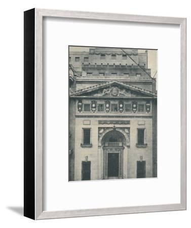 'The Leadenhall Street Entrance of Lloyd's', 1936-Unknown-Framed Photographic Print