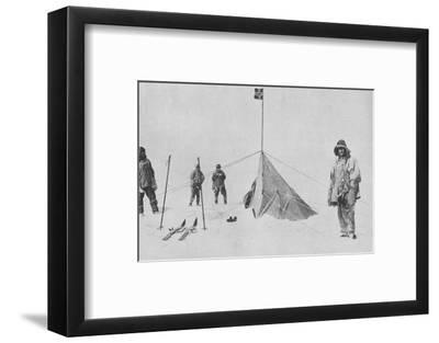 'At the South Pole', 1911, (1936)-Unknown-Framed Photographic Print
