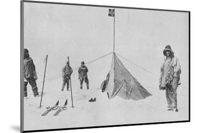 'At the South Pole', 1911, (1936)-Unknown-Mounted Photographic Print