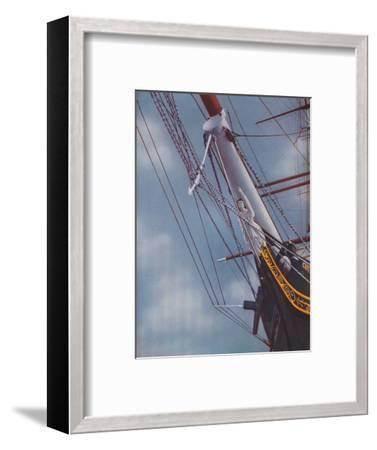 'Figurehead of the Famous Cutty Sark figure of Nanny the Witch', 1936-Unknown-Framed Giclee Print
