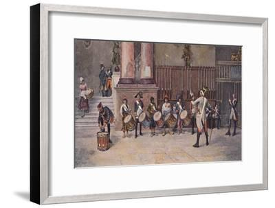 'The Drummers of the Republic', 1896-Unknown-Framed Giclee Print