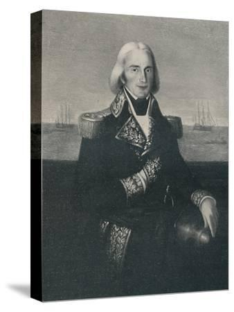 'Vice-Admiral François-Paul Brueys D'Aigalliers, c 1790s, (1896)-Unknown-Stretched Canvas Print