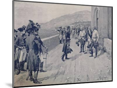 'Arranging for Masséna's Capitulation at Cornigliano, Near Genoa', 1896-Unknown-Mounted Giclee Print