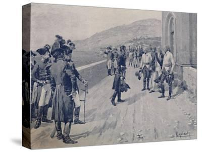 'Arranging for Masséna's Capitulation at Cornigliano, Near Genoa', 1896-Unknown-Stretched Canvas Print