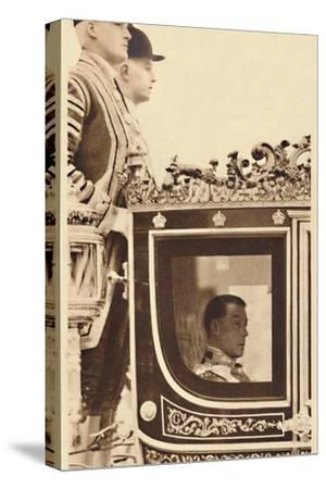 'First State Drive as Monarch', 1937-Unknown-Stretched Canvas Print