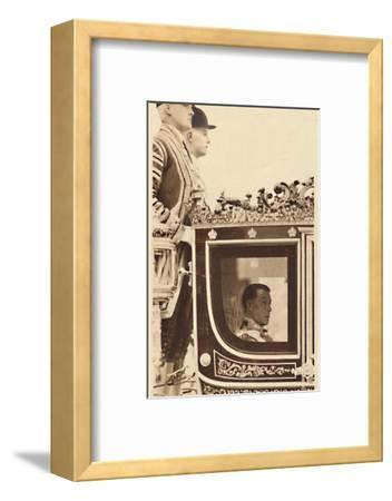 'First State Drive as Monarch', 1937-Unknown-Framed Photographic Print