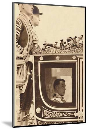 'First State Drive as Monarch', 1937-Unknown-Mounted Photographic Print