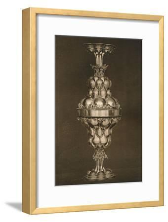 'The Tucher Double Cup', c17th century, (1927)-Edward F Strange-Framed Giclee Print