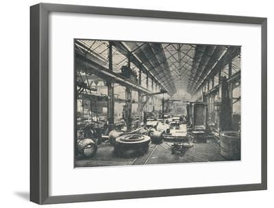 'Scene in a Boiler-shop', c1917-Unknown-Framed Giclee Print