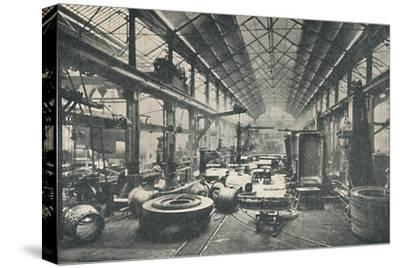 'Scene in a Boiler-shop', c1917-Unknown-Stretched Canvas Print